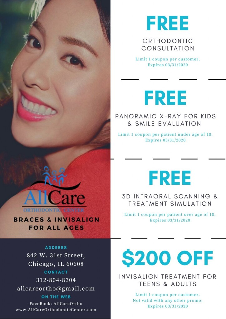 AllCare Orthodontic Center New Year Coupon English Version