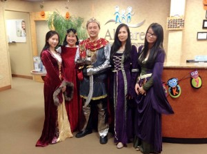 AllCare Orthodontic Center  Halloween Open House 2014