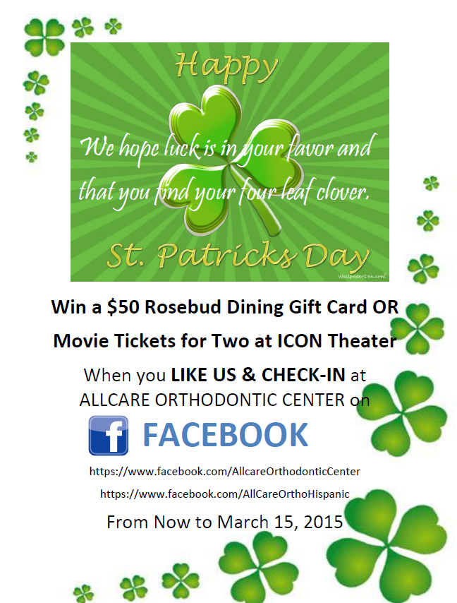 Like us on Facebook and Win $50 Rosebud Dining Gift Card or Two Movie Tickets at ICON Theater