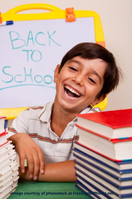 Back to school smile