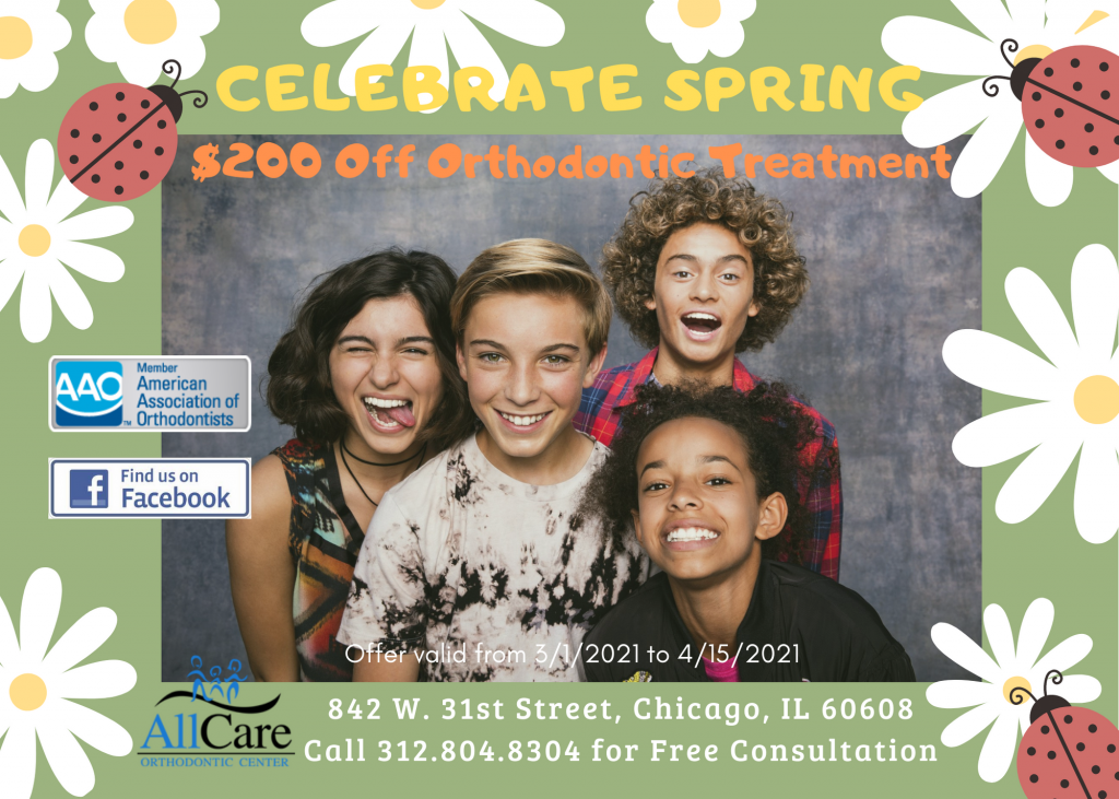 Affordable high quality orthodontic treatment, braces, invisalign, clear aligners, straight teeth, healthy smiles, Chicago top orthodontist
